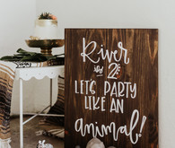Party like an animal birthday party