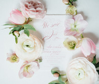French inspired stationery