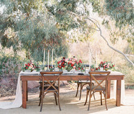 Tuscan inspired tablescape