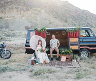 Van wedding portrait