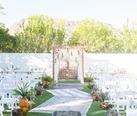 Paradise Valley wedding ceremony