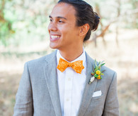 Orange bowtie