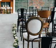 Industrial wedding ceremony