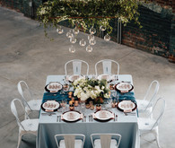 Industrial wedding reception