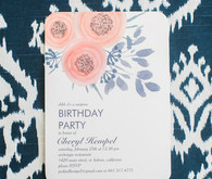 Spring birthday invites