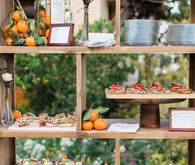 Rustic food table