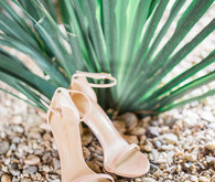 Stuart Weitzman bridal shoes
