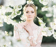 Spring bridal beauty