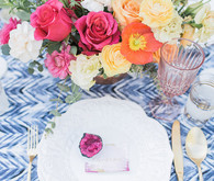 Spring place setting