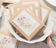 Spring girl's party favors