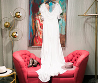 Delila Fox wedding dress