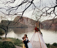 Bohemian wedding inspiration at Canyon Lake