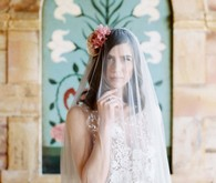 Grecian bridal fashion