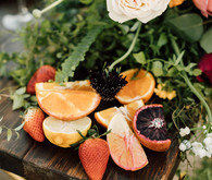 Colorful citrus-inspired wedding