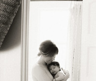 Lifestyle family newborn photos