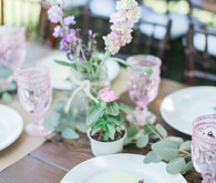 Spring, lavender baby shower brunch