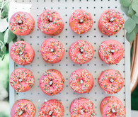 pink donut wall