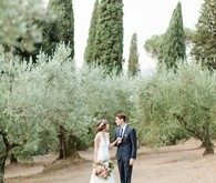 Romantic wedding inspiration in Florence