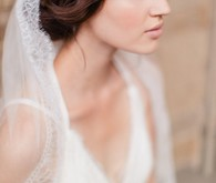 Jannie Baltzer bridal headpiece