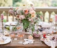 Romantic Florence tablescape