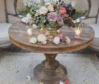 Romantic floral arrangement