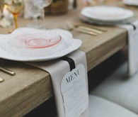 Elegant place setting