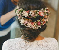 Floral hairpiece