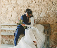 Laura Monge wedding gown