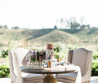 How to throw a romantic modern Spring wedding in Wine Country