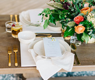 White place setting
