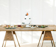 Rustic cake table
