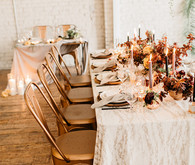 Copper tablescape