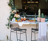 summer outdoor entertaining