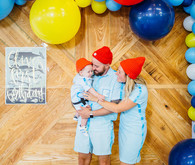 The Life Aquatic 1st birthday party
