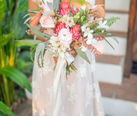 tropical costa rica wedding bouquet