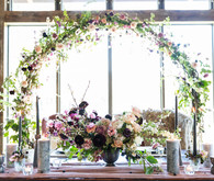 romantic fall wedding flowers
