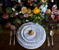 pear place setting