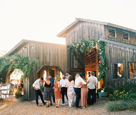 Colorful summer Big Sur wedding at Redwood Ridge Estate