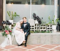 elegant vintage wedding portraits