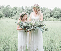 Earthy summer wedding in Michigan