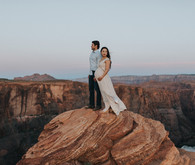 Horseshoe Bend maternity photos