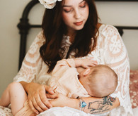 mother daughter nursing photos