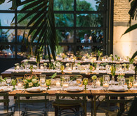 Modern DTLA wedding at the Millwick
