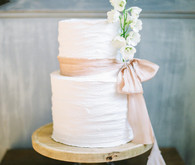 gorgeous simple French wedding cake