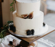 Fig wedding cake