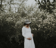 Spring portland maternity photos