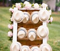 straw hat party favors