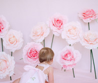 Extra large paper flowers