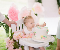 Southern Belle first birthday party