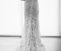 lace bridal gown